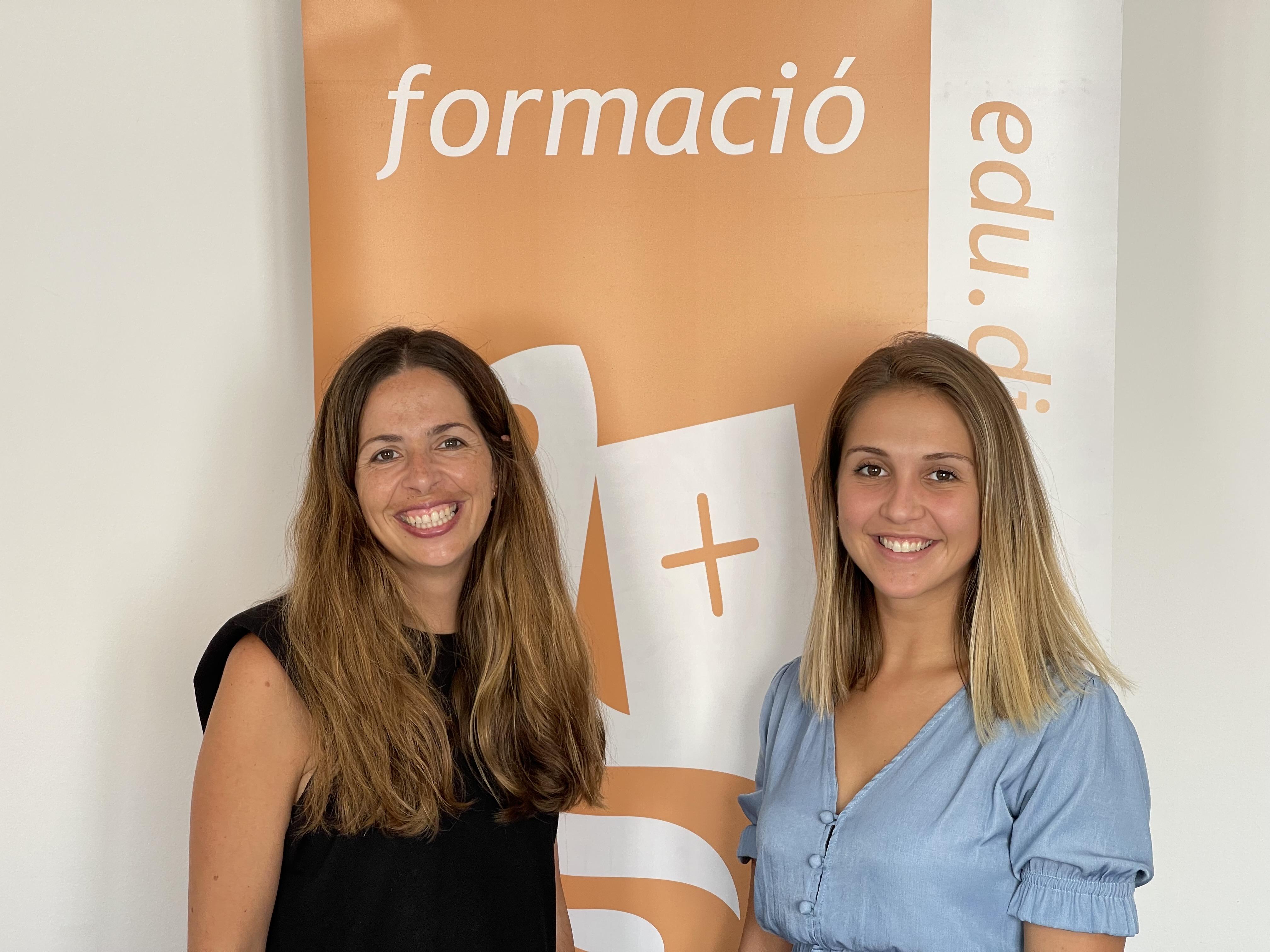 Foto Marina y Mª Àngels